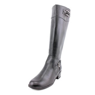 Karen Scott Donnely   Round Toe Synthetic  Knee High Boot