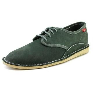 Oliberte Anago Men Plain Toe Leather Gray Oxford