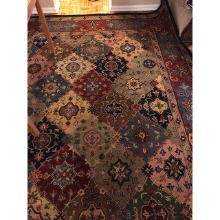 "Safavieh Handmade Heritage Timeless Traditional Red Wool Rug - 8'-3"" X 11'"
