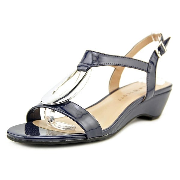 Karen Scott Carmeyy Women Open Toe Synthetic Wedge Sandal