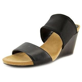 Alfani Womens Parrker Open Toe Casual Slide Sandals