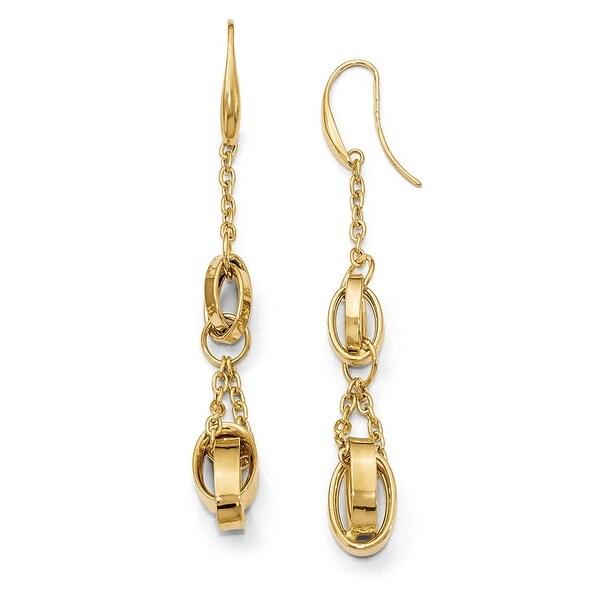 Italian 14k Gold Fancy Earrings