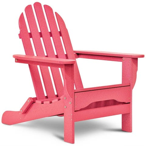 Halifax Recycled Plastic Outdoor Adirondack Chair by Havenside Home