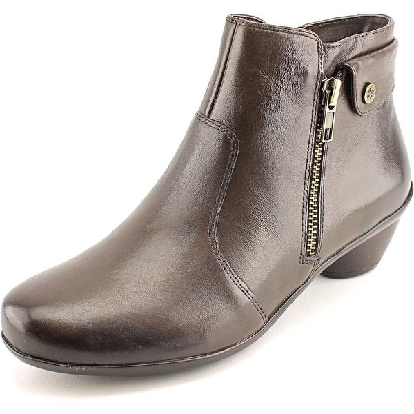 Naturalizer Haley  W Round Toe Leather  Bootie