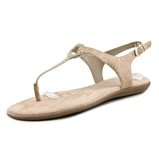 Aerosoles Chlass Ring Open-Toe Leather Slingback Sandal
