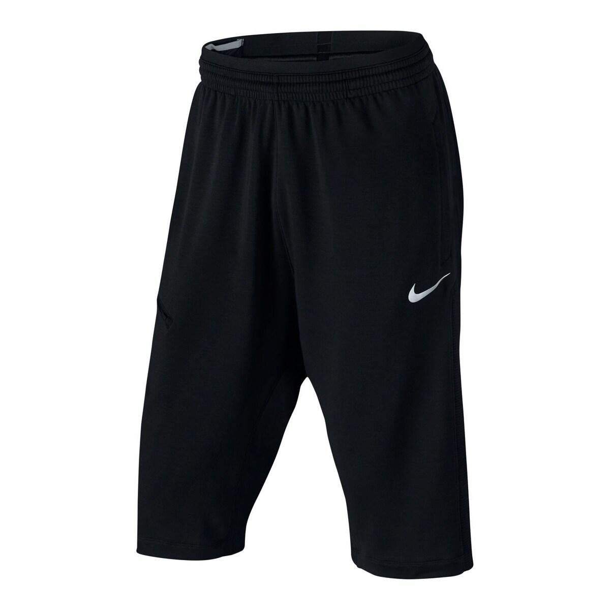 Nike Mens Dry Shorts Basketball Zip Pocket - M