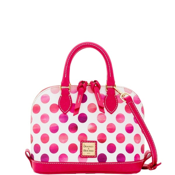 Dooney & Bourke Dots Bitsy Bag (Introduced by Dooney & Bourke at $178 in Dec 2016) - Pink