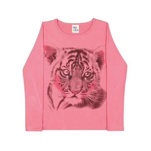 Tween Girls Long Sleeve Shirt Teen Graphic Tee Pulla Bulla Sizes 10-16 Years