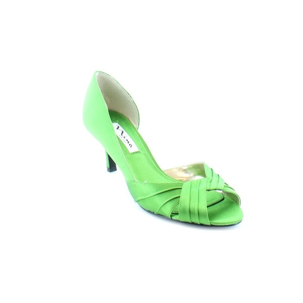 Nina Culver Women's Heels Apple Green