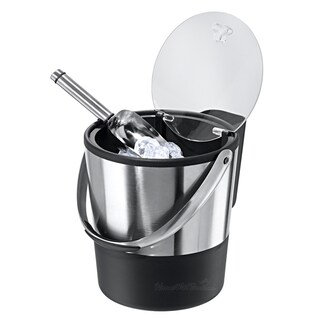 Professional Insulated Ice Bucket with Lid and Scoop