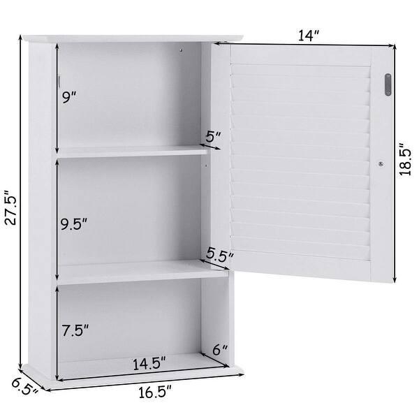 Wall Hanging Bathroom Storage Cabinet