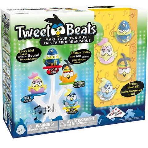 Identity Games Tweet Beats Make Your Own Music Tree w/ 4 Birds