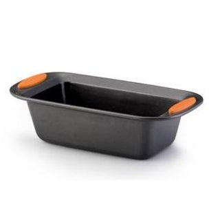 Rachael Ray 54079 Bakeware Oven Lovin Deep Rectangle - 9-Inch by 5-Inch Loaf Pan Grey