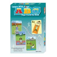 Say it Right Learn with Yoga ABC Yoga Cards for Kids, Set of 52