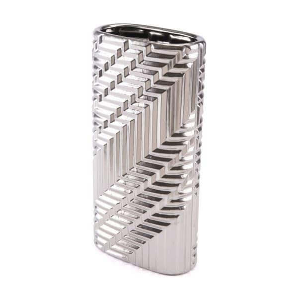 Small Modern Vase Silver