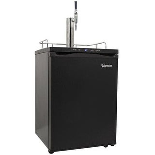EdgeStar KC3000CAFE 24 Inch Wide Cold Brew Coffee Dispenser with Digital Display