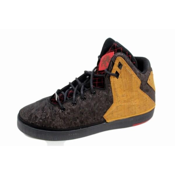 Nike Men's Lebron XI 11 NSW Lifestyle Black/Black-Varsity Red 616766-004