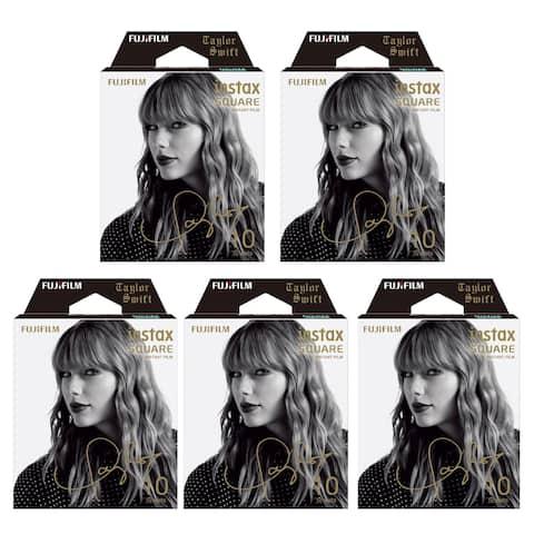 Fujifilm Instax Square Film Taylor Swift Edition (5-Pack) - 86mm x 72mm