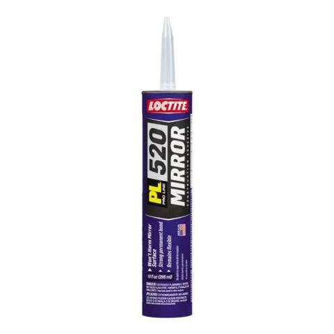 Loctite 1650979 PL520 Mirror Mastic Construction Adhesive, 10.2 Oz