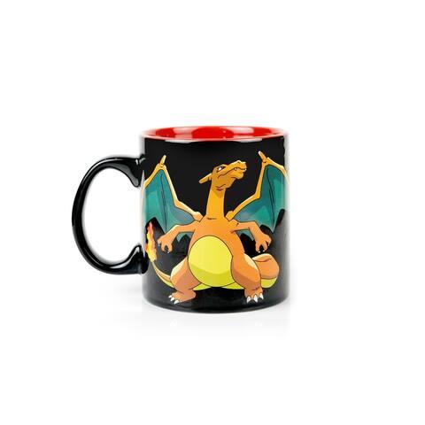 Pokemon Charmander Evolution Heat Change Mug - Multi