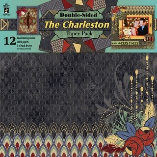 "Hot Off The Press Double-Sided Paper Pack 12""X12"" 12/Pkg-The Charleston"