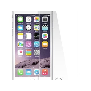 Monoprice 0.33mm Tempered glass screen protector Bubble free no residue for Iphone 8 PLUS