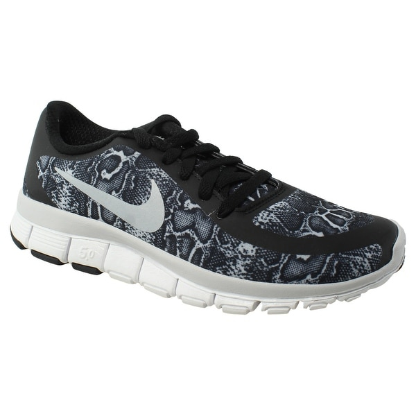 641f5ad1408c Shop Nike Womens Free 5.0 V4 Ns Pt Black Running Shoes Size 5 New ...