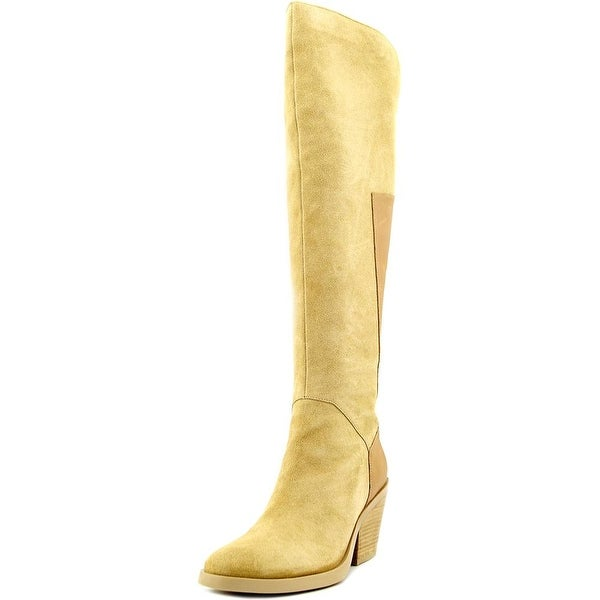 Naya Ansible Women Round Toe Leather Knee High Boot