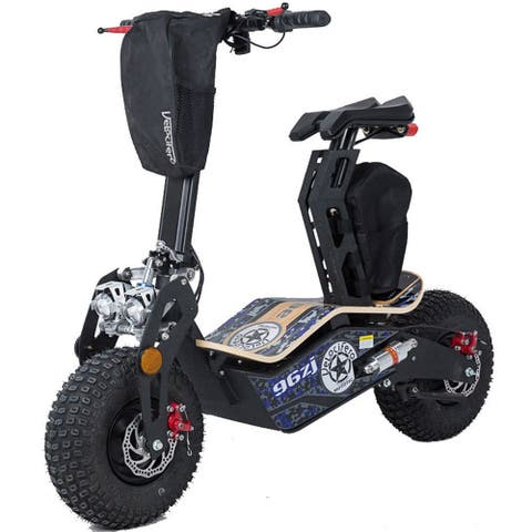 MotoTec Mad Blue 1600w 48v Electric Scooter
