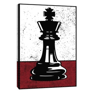 """PTM Images 9-108623  PTM Canvas Collection 10"""" x 8"""" - """"Chess King"""" Giclee Sports and Hobbies Art Print on Canvas"""