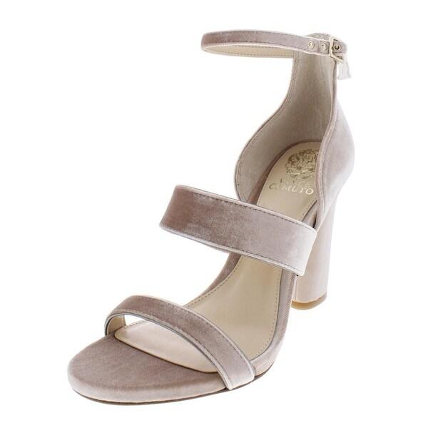 cab5d2875ef Shop Vince Camuto Womens Robeka Dress Heels Velvet Open Toe - Free ...