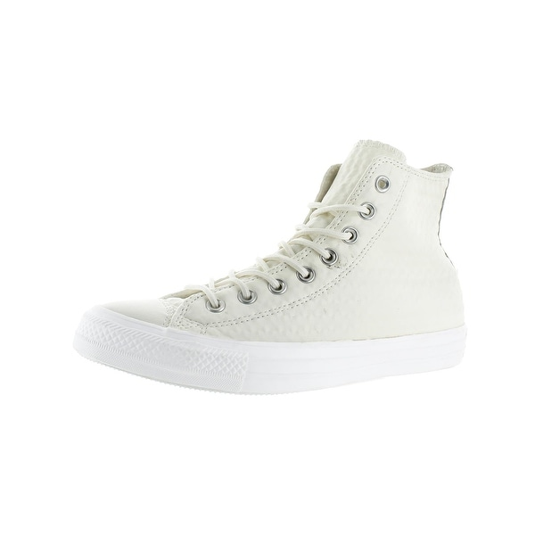 Shop Converse Mens Chuck Taylor All Star Leather Hi High Top