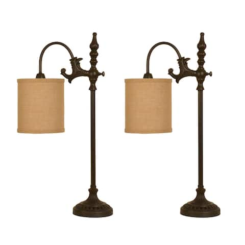Lowell Arched Table Lamp - Set of 2