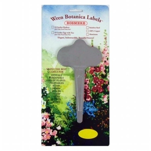 Bosmere H401 Bulk Wren Stainless Steel Garden Markers Pack Of 12