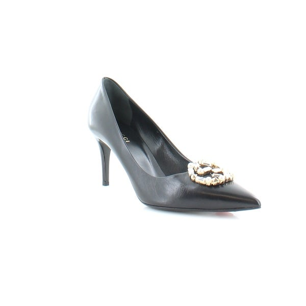 Gucci Pearl Women's Heels Black