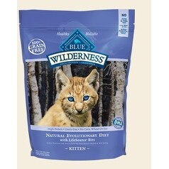 Blue Buffalo Cat Wilderness Grain-Free Kitten Chicken 2 Lbs.