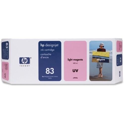 HP 83 680-ml Light Magenta DesignJet UV Ink Cartridge (C4945A) (Single Pack)