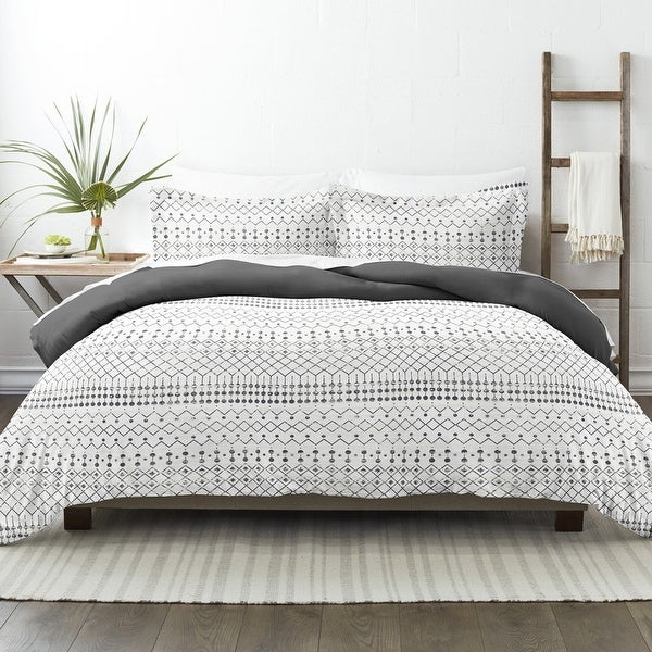 Becky Cameron Etched Gate 3 Piece Reversible Duvet Cover Set. Opens flyout.