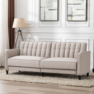 Noah Modern Button-Tufted Sofa Bed