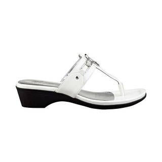 Marc Fisher Womens Amina3 Open Toe Casual Slide Sandals