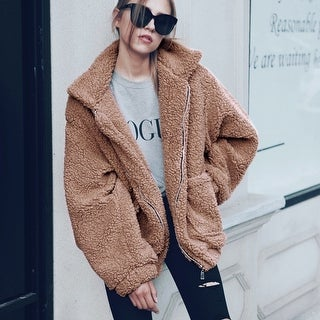 Women Winter Warm faux fur coat Long Sleeve Outwear Lady Short Style Fur Jacket Brand 4 Colors Clothing 2017