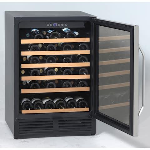 Avanti WCR506SS 50 Bottle Wine Cooler, Stainless Steel - Stainless Steel
