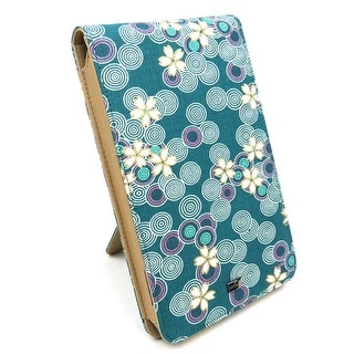 "JAVOedge Cherry Blossom Flip Case for Amazon Kindle Fire 7"" (Ocean Blue)"
