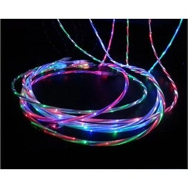 HIGH QUALITY DUAL COLOR Light Up Samsung Android HTC Micro Charger 5 Colors!