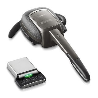 Jabra Supreme UC Mono Bluetooth Headset w/ Noise-Canceling & One Touch Volume Control