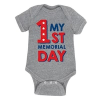 First Memorial Day  - Infant One Piece