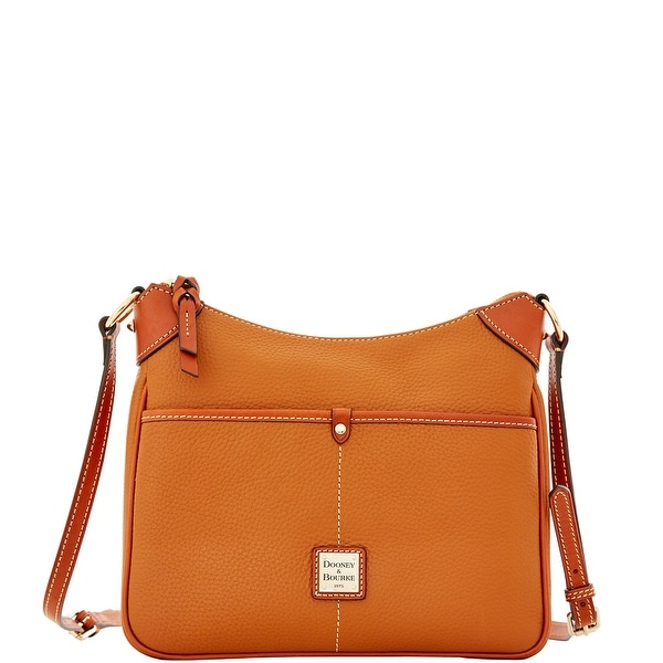 Dooney & Bourke Pebble Grain Kimberly (Introduced by Dooney & Bourke at $198 in Dec 2015) - Caramel