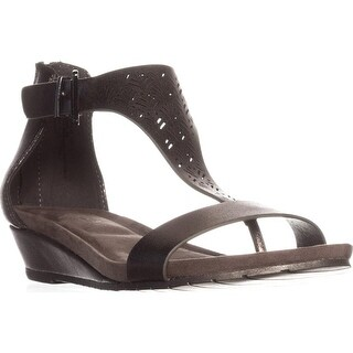 Kenneth Cole REACTION Great Gal 3 Wedge Sandals, Gunmetal