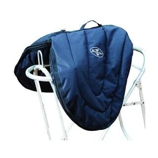 Professionals Choice Bag English Saddle Case Adjust Strap Black
