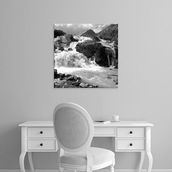 Easy Art Prints PhotoINC Studio's 'White Water' Premium Canvas Art